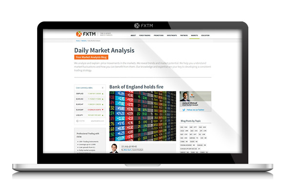 تحلیل روزانه بازار